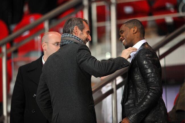 Eto'o au PSG plutôt qu'à l'Inter ? On le dit en Italie