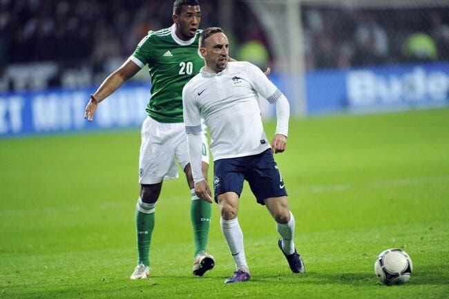 Ribéry confirme son « blocage » avec l'équipe de France