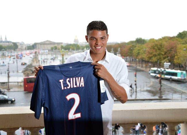 Thiago Silva entretient le suspens pour PSG-Bordeaux