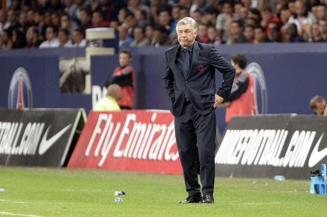 Ancelotti et le PSG pensent à la première place