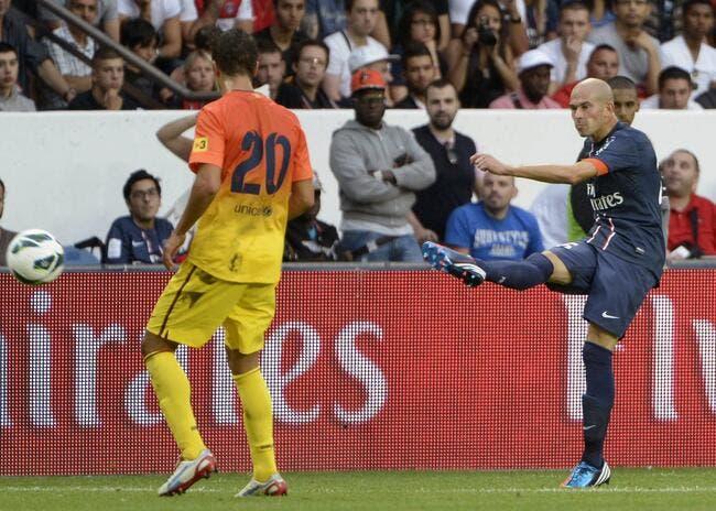 Le PSG reprendrait bien un petit Barcelone