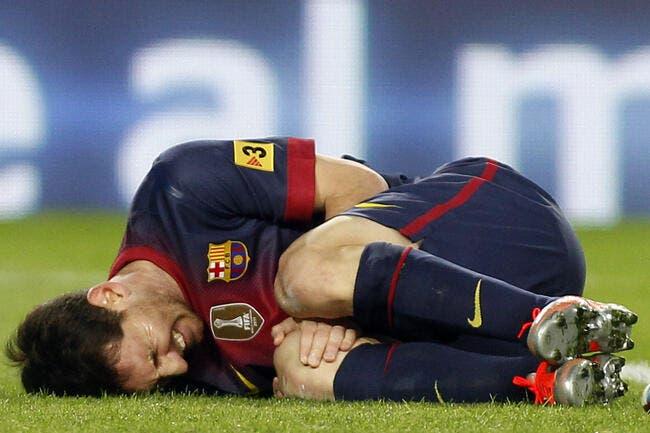 Messi blessé... pour quelques instants