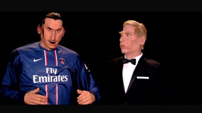 Ibrahimovic rencontre sa marionnette