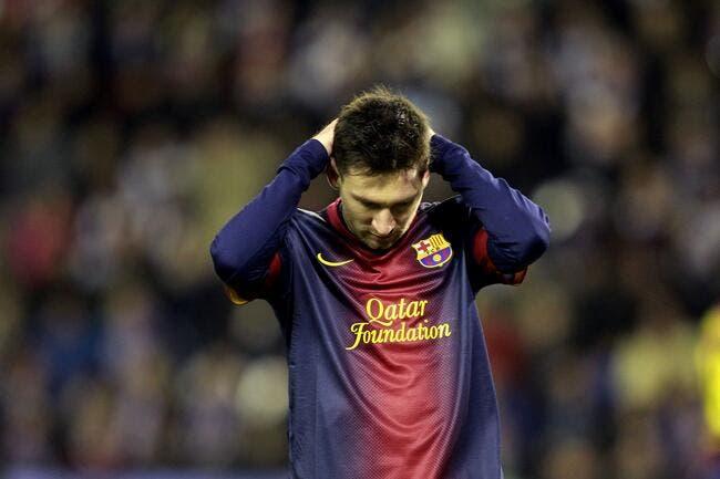 C'est Noël et le Messi n'est pas comblé