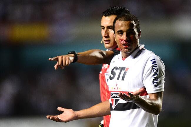 Lucas Moura ne se roulera pas par terre au PSG