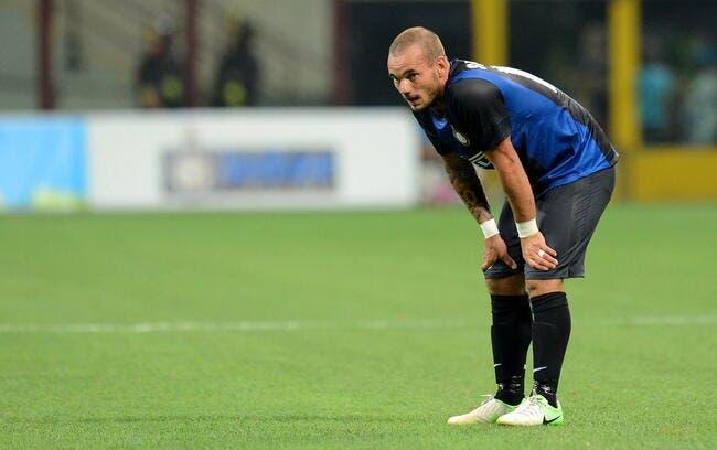 Sneijder demande à quitter l'Inter