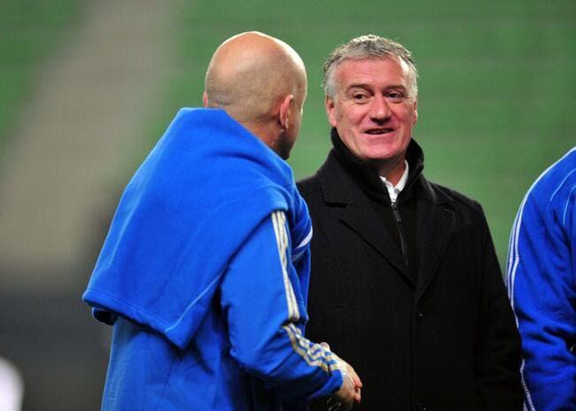 Deschamps pense qu'Ancelotti est un petit malin