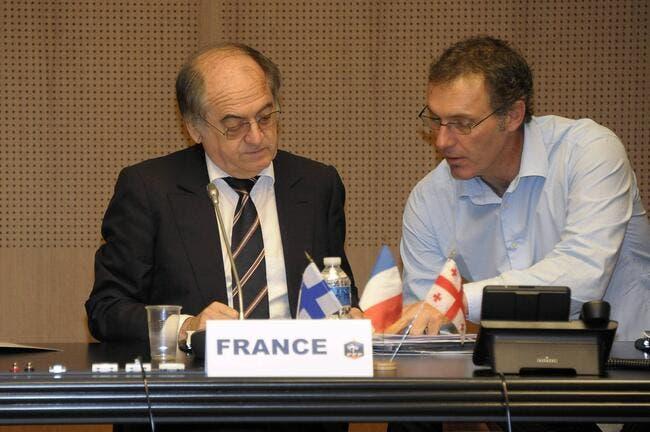 Le Graët et Blanc, un divorce annoncé après l'Euro 2012 ?