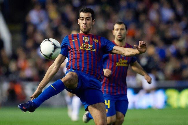 Vidéo : Beaucoup de peur mais pas de mal pour Busquets avec le Barça