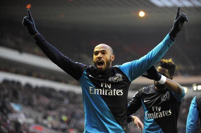 Henry a déjà une place au chaud à Arsenal l'hiver prochain