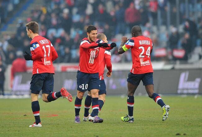 Lille refuse de vendre Hazard au PSG