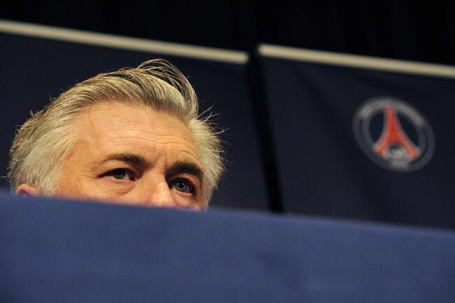 Ancelotti veut sa première finale avec le PSG