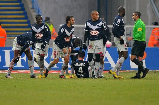 Bordeaux, cinq défenseurs et cinq buts marqués, c'est possible