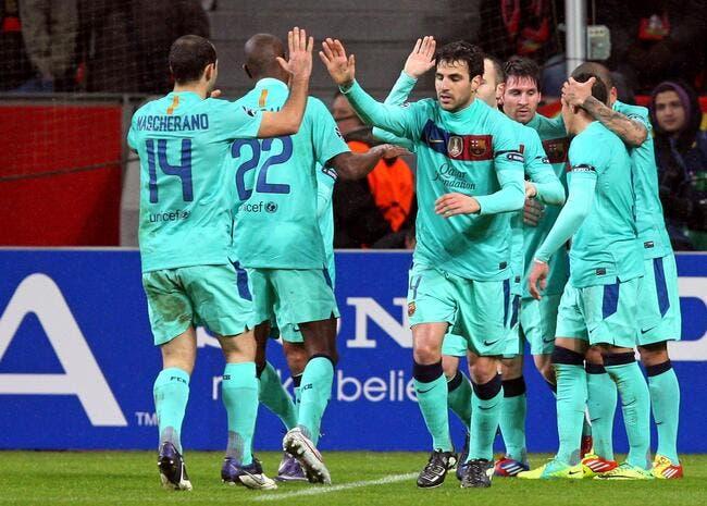 Le Barça s'est fait plaisir à Leverkusen