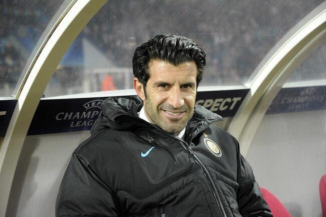 Figo entraîneur de l'Inter contre l'OM ?