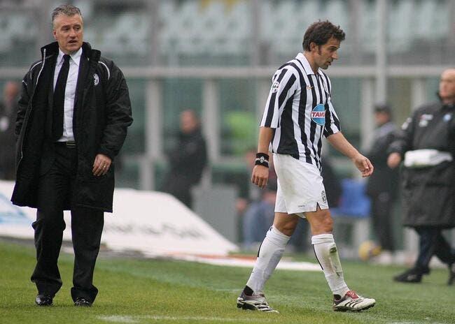 Deschamps ouvre grand la porte à Del Piero pour la saison prochaine