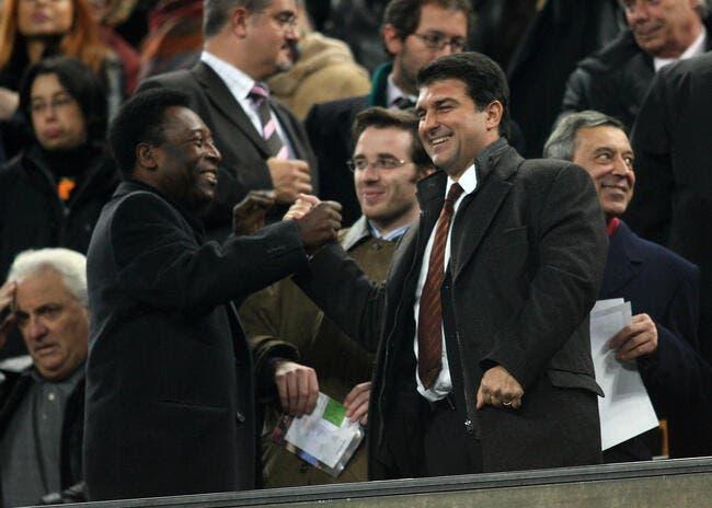 Pelé connaît le secret du Barça