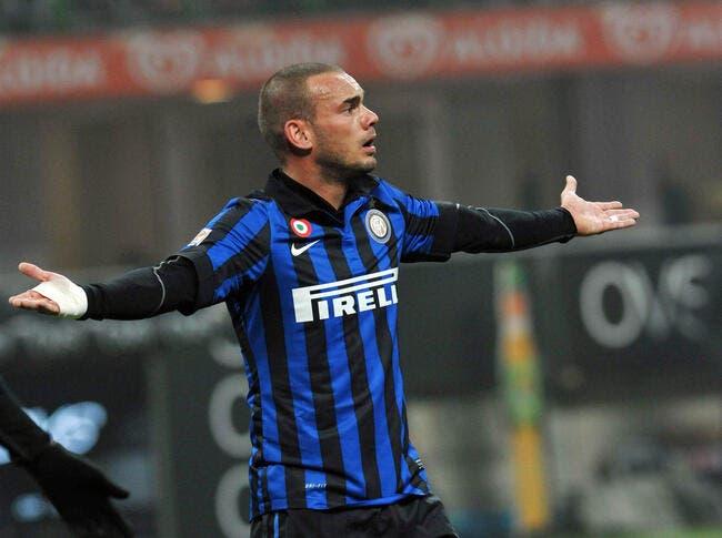 L'Inter avec l'énigme Sneijder face à l'OM ?