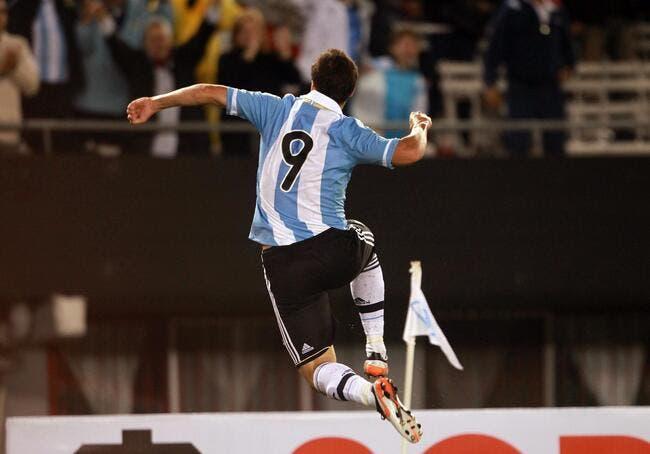 City échangerait bien Higuain contre Tevez