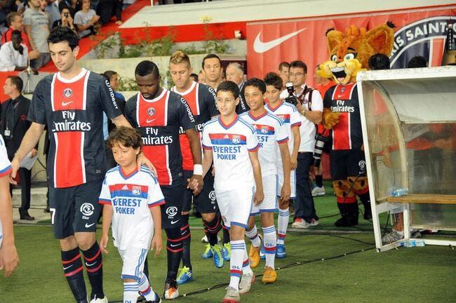 Contre l'OL, le PSG s'imagine en Ligue des Champions