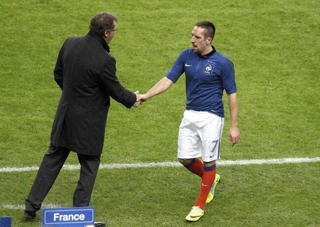 Blanc tire les oreilles à Ribéry sur ses ambitions à l'Euro