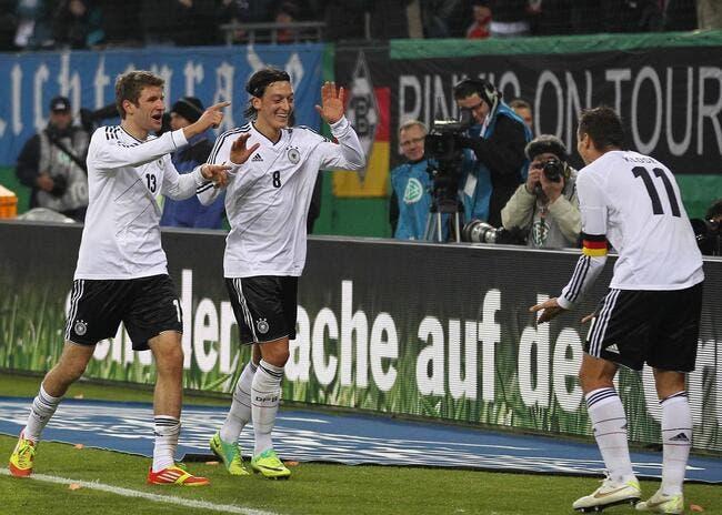« L'Allemagne est bien au-dessus de la France », affirme Blanc