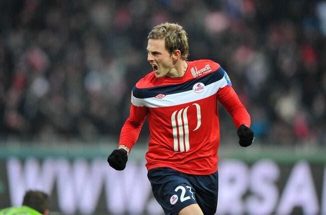 Pour Nolan Roux, Lille peut se prendre à rêver en fin de saison