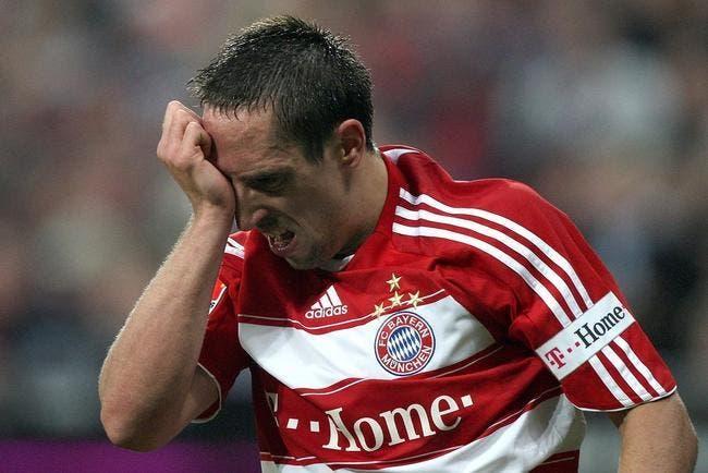 Ribéry ignore son entraîneur parce que le Bayern n'est pas « un internat de filles »