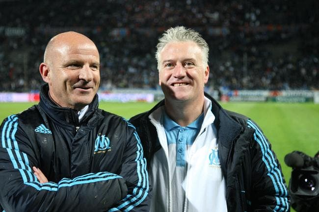 Deschamps, déjà 100 matches comme coach de l'OM et un gros palmarès