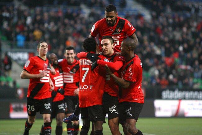 Rennes évite le pire face à Lille grâce à Erding
