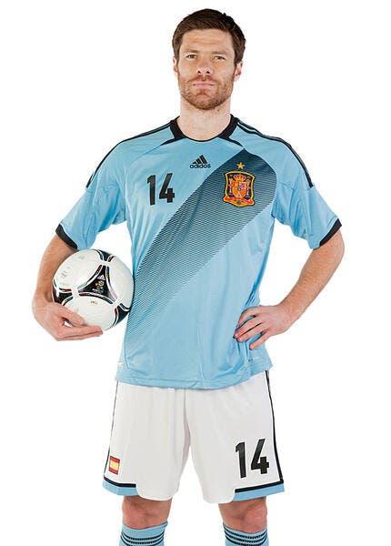 Photo : L'Espagne se met au bleu pour l'Euro