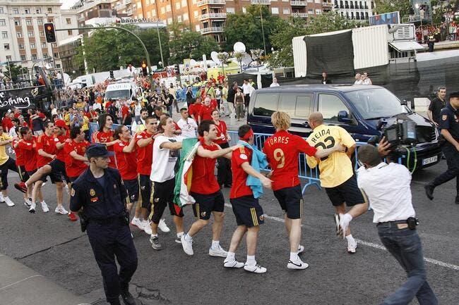 Pas de prime avant les quarts pour l'Espagne à l'Euro