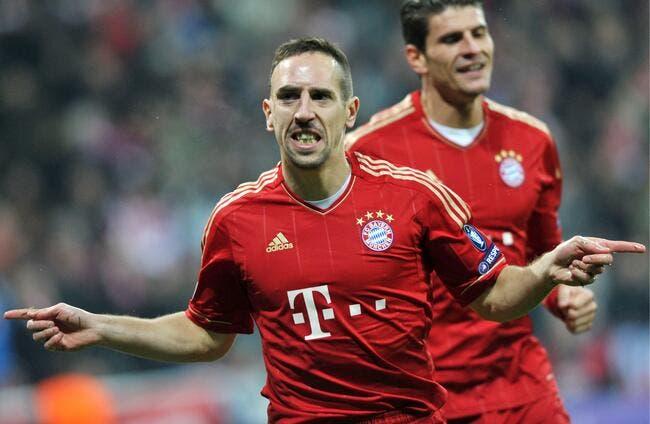 Ribéry colle son nez dans les affaires du PSG