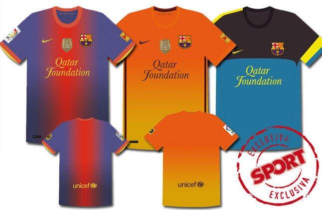 Photo : Le nouveau maillot du Barça va faire parler