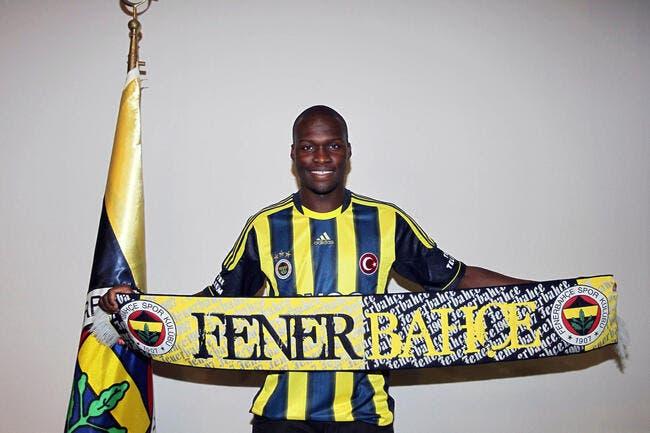 Officiel : Moussa Sow a signé à Fenerbahçe