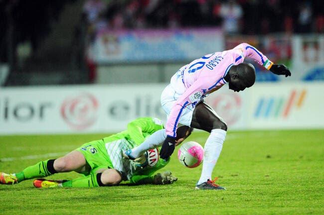 Evian passe à une goutte de la victoire