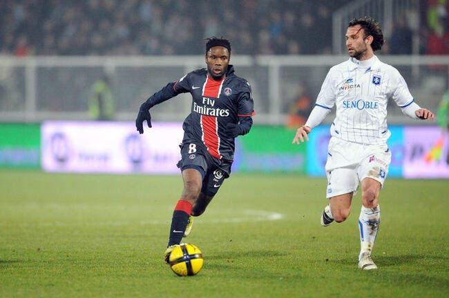 Luyindula à Auxerre, ça dépend du PSG