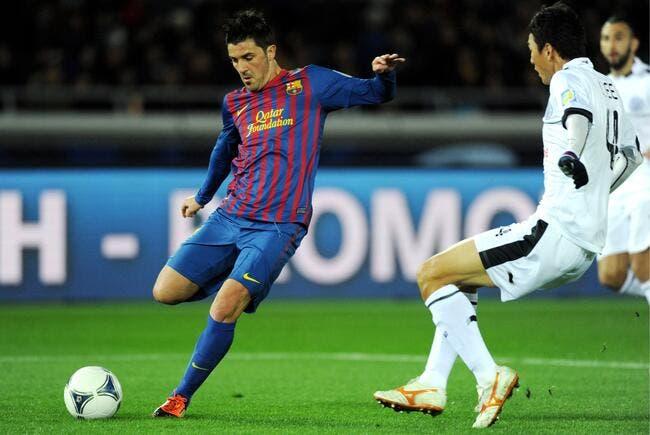 Une offre du PSG refusée pour David Villa