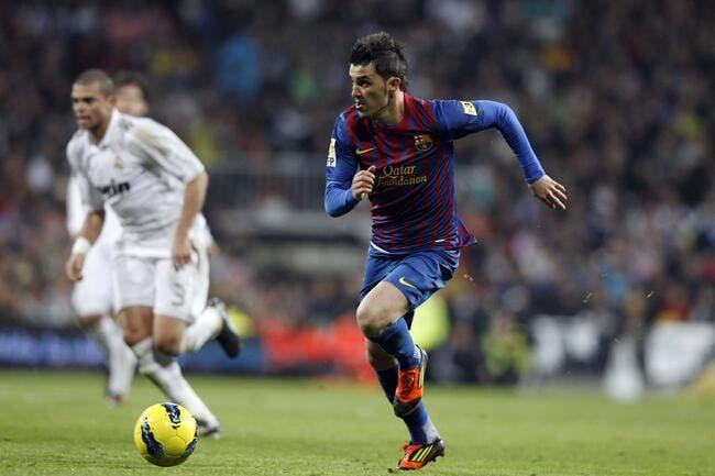 Pour 30ME, le PSG pourrait s'offrir David Villa
