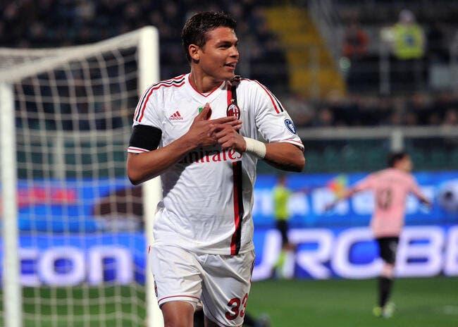 Thiago Silva au PSG, ça fait très mal au Milan