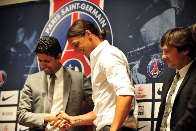 Vidéo : Ibrahimovic au PSG, la conférence de presse en direct