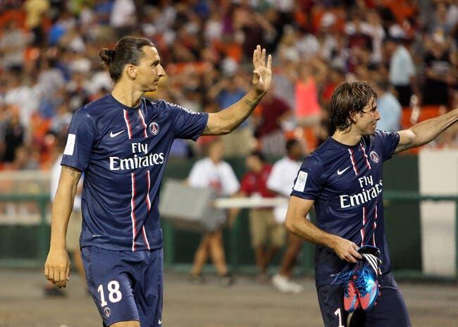 Ibrahimovic veut tout gagner avec le PSG