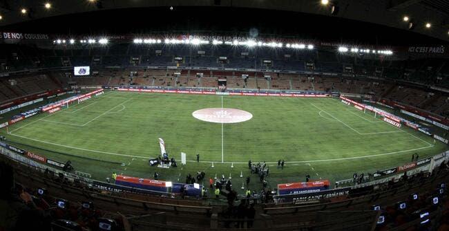 Le PSG s'offre une pelouse chauffée au Parc des Princes