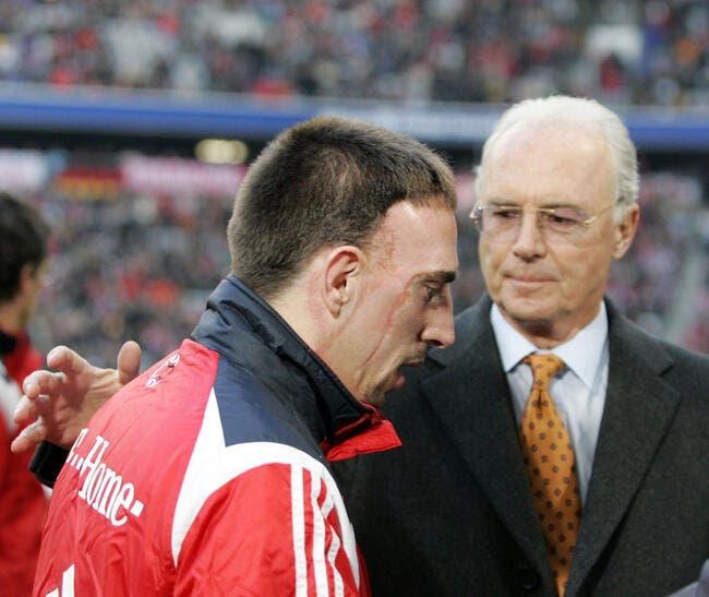 L'hommage de Beckenbauer à Franck Ribéry