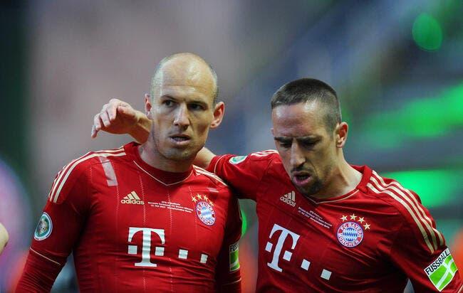 Ribéry l'avoue, Robben n'est pas son grand ami au Bayern