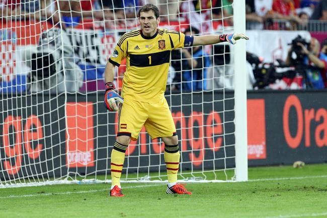 L'Espagne n'a jamais été le favori de l'Euro selon Casillas
