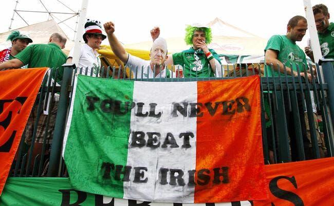 Les supporters irlandais récompensés par l'UEFA