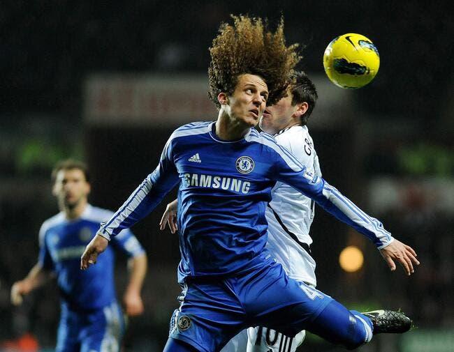 David Luiz joue les donneurs de leçons avec Lampard à Chelsea