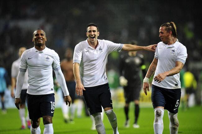 Et voilà, la France est favorite de l'Euro 2012