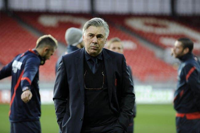 Ancelotti confirme deux absences au PSG face à Ajaccio